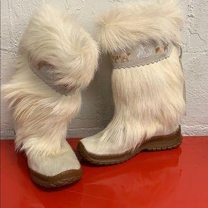 Winna Oscar White Boots